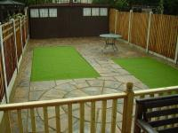 Domestic Garden Project - Patio and Grass Area