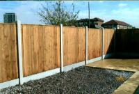 Fence and paving project