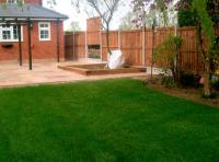 Paving and turfing project