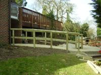 Landscaping Project - Pathway With Handrail (1)