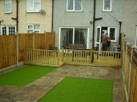 Domestic Garden Project - Decking Area