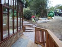 Landscaping Project - Decking And Steps