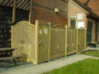 Landscaping Project - Trellis Fencing (1)