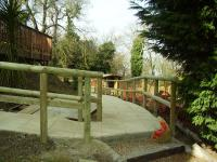 Landscaping Project - Pathway With Handrail (4)