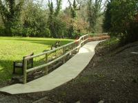 Landscaping Project - Pathway With Handrail (2)